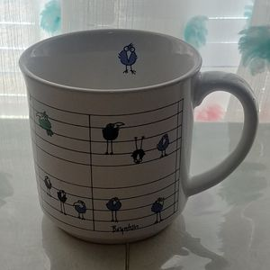 Musical Bird Coffee Mug